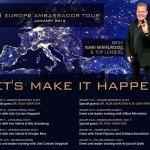 Тур по Европе от OneCoin