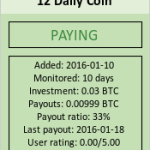 12 Daily Coin
