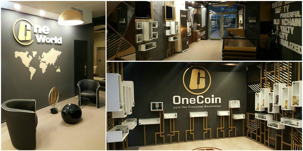 Центр криптовалюты OneCoin ждет своих посетителей