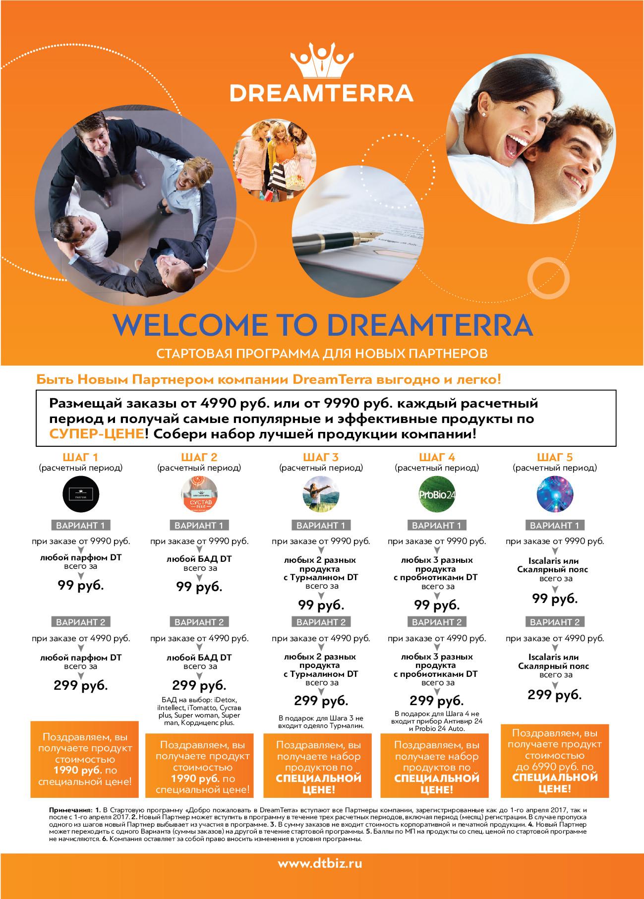 Компания DreamTerra
