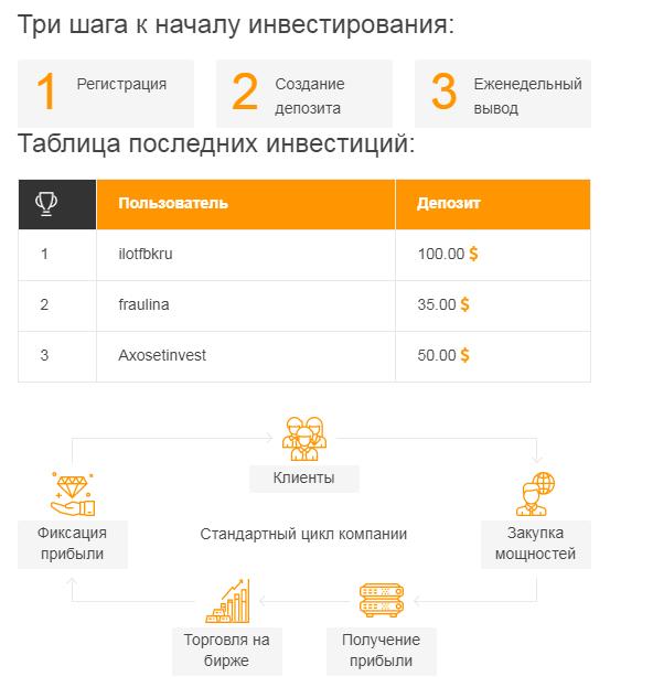 Отзыв про Web Hash Investment