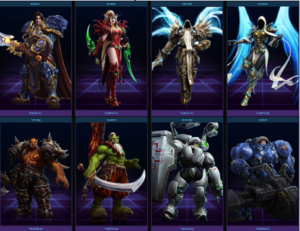 Персонажи Legends FGG