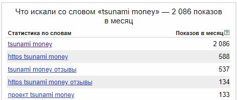 Отзыв о Tsunami Money