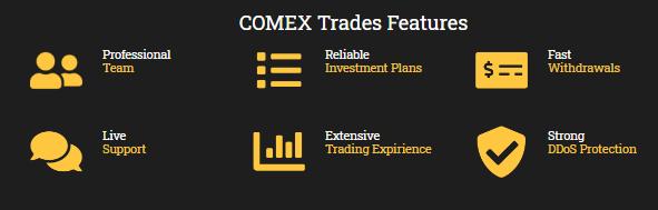 Comex Trades